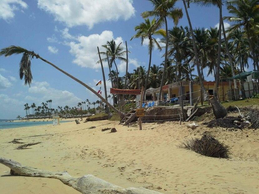 La investigación procura saber si la erosión en las playas de Bávaro-Punta Cana es continua o temporal. (Suministrada)