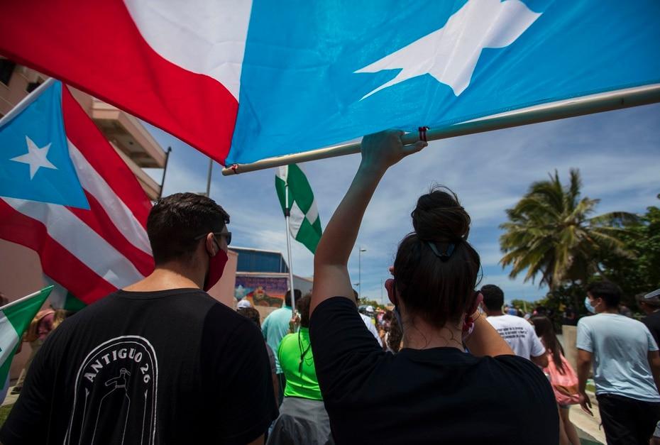 El mes pasado, la diáspora marchó a favor de la descolonización de Puerto Rico desde ocho ciudades de Estados Unidos.