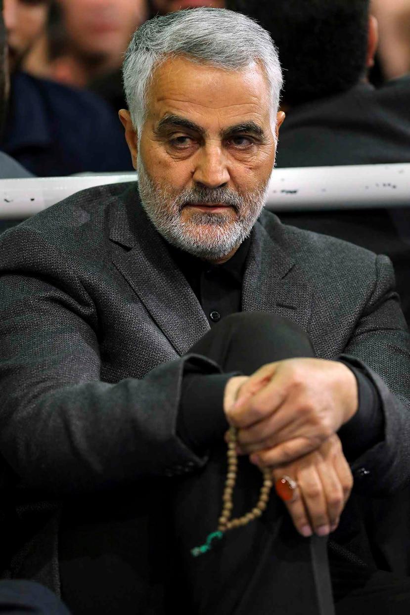 El general iraní Qassem Soleimani. (Office of the Iranian Supreme Leader via AP, File)
