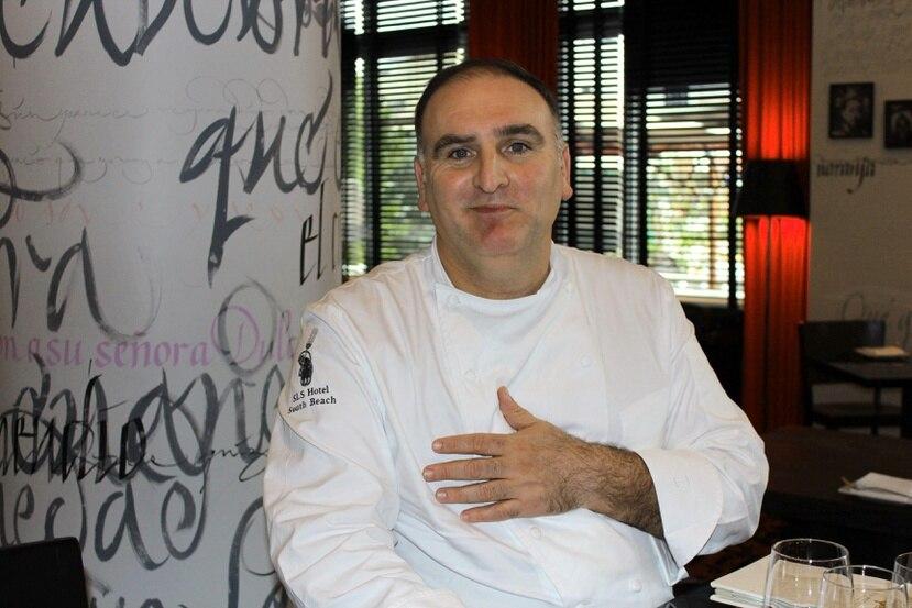 Ell cocinero español José Andrés  introducirá un segmento de la ceremonia de investidura del próximo presidente de Estados Unidos Joe Biden.