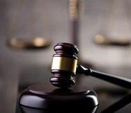 Un mallete utilizado por los jueces.