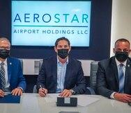 Aerostar cederá sin costo alguno los espacios donde ubicará el cuartel de la Policía en las instalaciones del Aeropuerto Internacional Luis Muñoz Marín y asumirá los adiestramientos correspondientes para mantener a la fuerza uniformada al tanto de las mejores prácticas de seguridad en la industria turística.