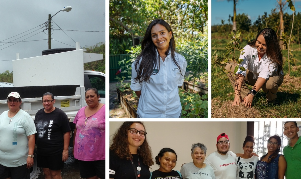 4 lideresas ambientales y comunitarias que inspiran a nuevas generaciones puertorriqueñas a seguir su ejemplo
