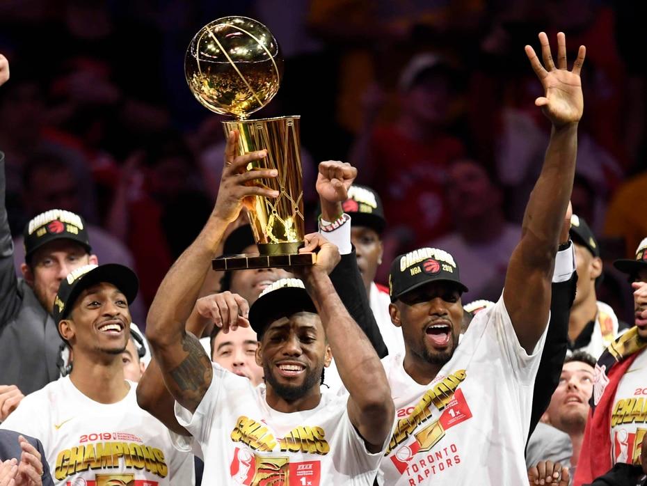 Los Raptors de Toronto ganaron su primer campeonato en la historia de la NBA.