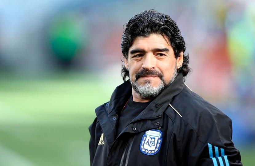 Imagen de archivo de Diego Maradona.
