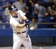 Tras jugar en Corea, Carlos Baerga se reportó a los Vaqueros de Bayamón en el béisbol invernal, donde ganó un campeonato. (Archivo)