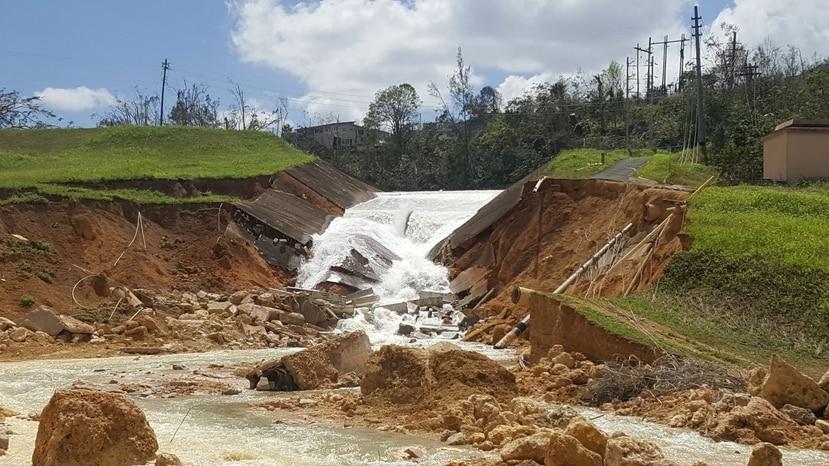 Represa Guajataca.
