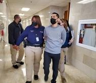 Jensen Medina es arrestado luego de no prestar fianza de $250,000 por tener una licencia falsa.
