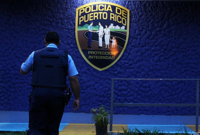 Cuartel de la Policía de Puerto Rico.
