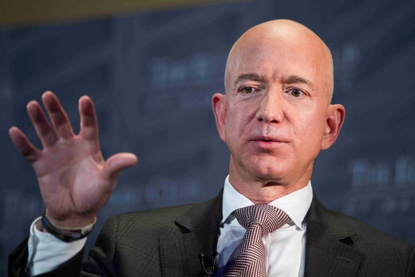 Jeff Bezos, CEO de Amazon. (AP)