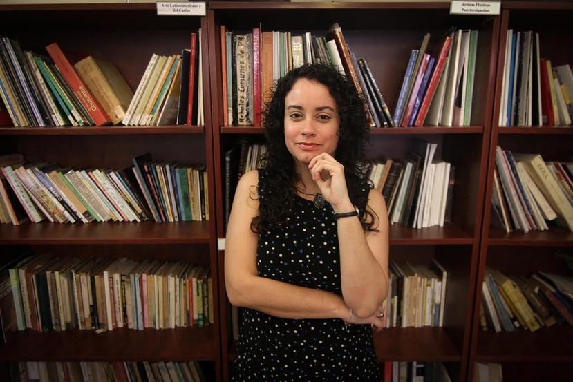 La autora, de 31 años, ideó esta historia ante la inquietud que sentía por los acontecimientos actuales en el mundo, sobre todo las guerras. (Suministrada / Gerardo Castillo)