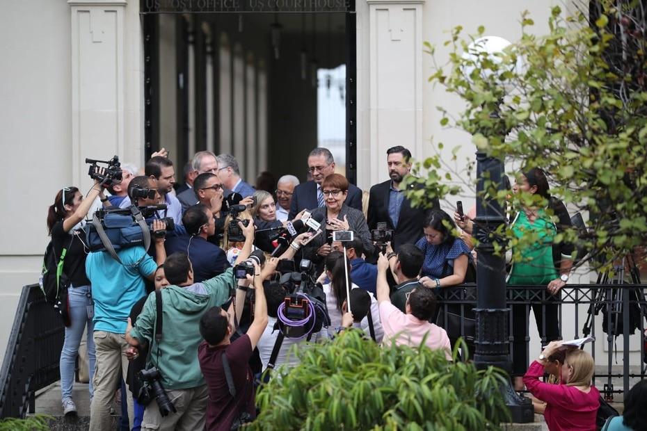 El juez Daniel Domínguez no concedió libertad bajo fianza a Marcia y José.