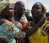 El secuestro en masa de abril del 2014 captó la atención internacional sobre la mortífera insurgencia de Boko Haram en el norte de Nigeria. (AP)