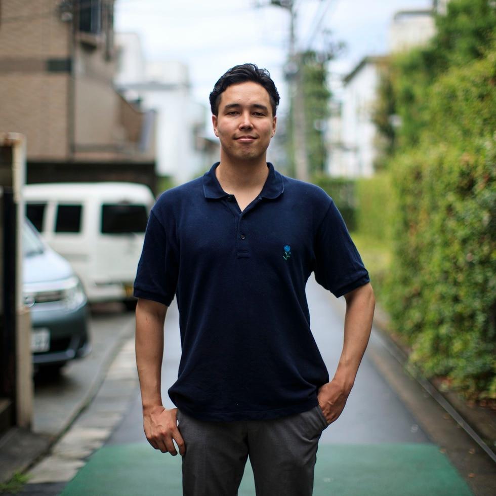 Toji Morimoto, un profesional japonés de 32 años e hijo de una puertorriqueña.