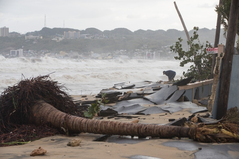 En el CROP data portal, la categoría de cambio climático se enfoca en datos y riesgos, e incluye productos como mapas de modelos de marejadas ciclónicas.