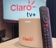 La caja inteligente de Clarotv+ se basa en Android TV y tiene integrado el sistema Google Home, con su asistente de búsqueda activada por voz.