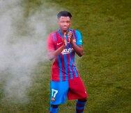 Ansu Fati, delantero del FC Barcelona.