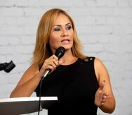La senadora Ada García Montes.