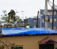 El gobierno solicitó ayudas de FEMA después del paso del huracán María en septiembre de 2017. (Archivo/GFR Media)