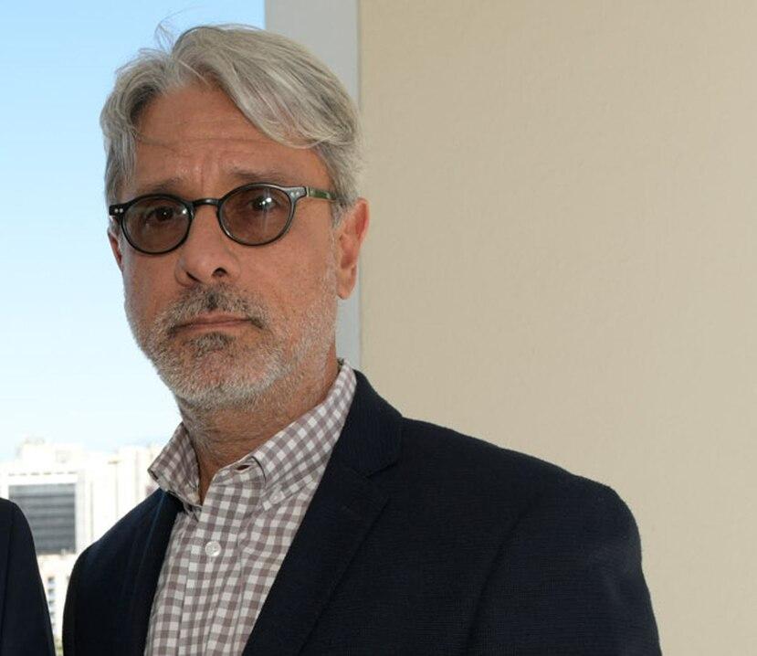 Luis Carlos Fernández Trinchet, al centro. (GFR Media)