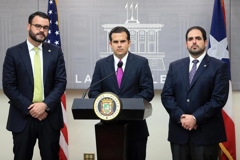 Aunque no se han presentado cargos en su contra, tanto Ricardo Rosselló Nevares como Christian Sobrino Vega cuentan con sus respectivos abogados ante la investigación que está en manos de dos fiscales especiales independientes. (GFR Media)