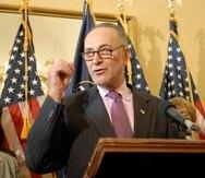 El portavoz demócrata en el Senado, Charles Schumer. (AP)