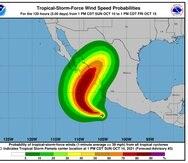 La tormenta tropical Pamela impactaría México.