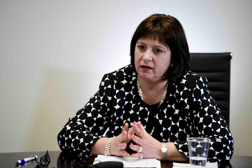 """""""Now the hard work starts together (with the Government) to implement it,"""" said Jaresko."""