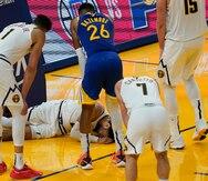 Los Nuggets pierden a Jamal Murray por un desgarre en el ligamento cruzado anterior en la rodilla
