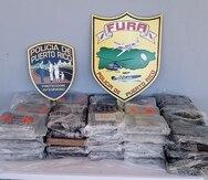 Ocupan millonario cargamento de cocaína en la costa oeste de Puerto Rico