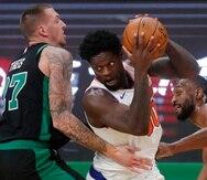 Julius Randle tiene a los Knicks de vuelta en los playoffs de la NBA por primera vez desde 2014.