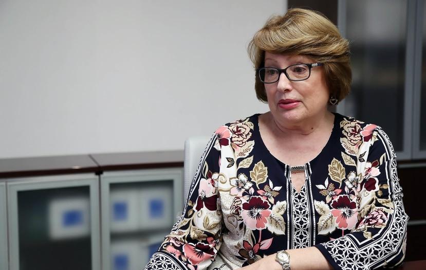 Gloria Baquero, presidenta de National University College.