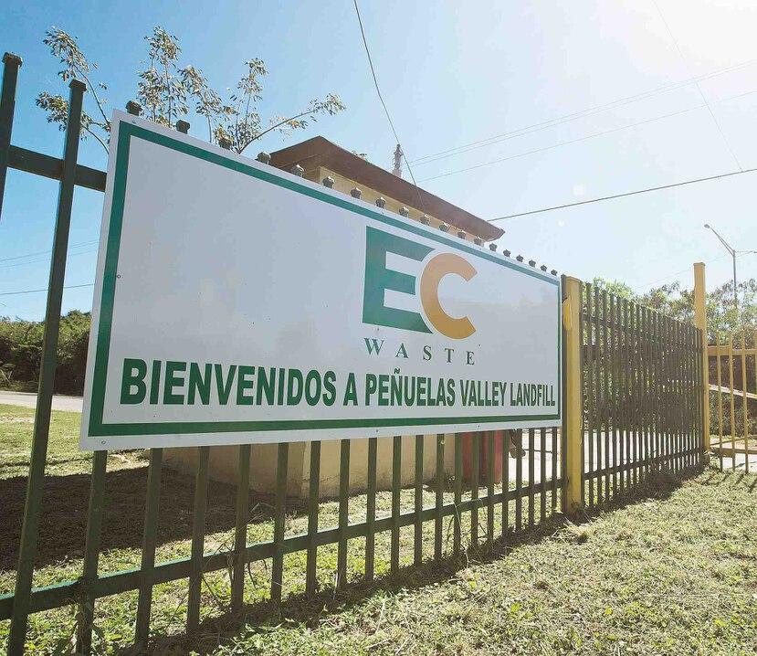 EC Waste es la compañía operadora del Peñuelas Valley Landfill. (Archivo/GFR).