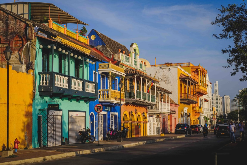 Estampa de Cartagena, Colombia. (Unsplash)