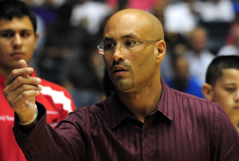 """Alfredo """"Piraña"""" Morales funge como director de torneo del BSN. (GFR Media)"""
