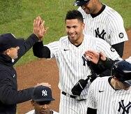 Gleyber Torres sale de la alineación de los Yankees al reportarse siete casos de COVID en el equipo