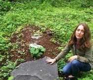 """Suzanne Kelly, presidenta de la comisión del Cementerio de Rhinebeck y autora de """"Greening Death"""" (La muerte verde). (AP)"""