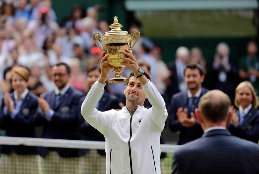Novak Djokovic lleva ya 16 títulos del Grand Slam. (AP)