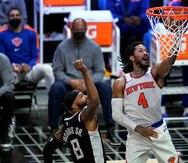 Derrick Rose guía a los Knicks a su primer triunfo sobre los Clippers en el Staples Center en nueve salidas