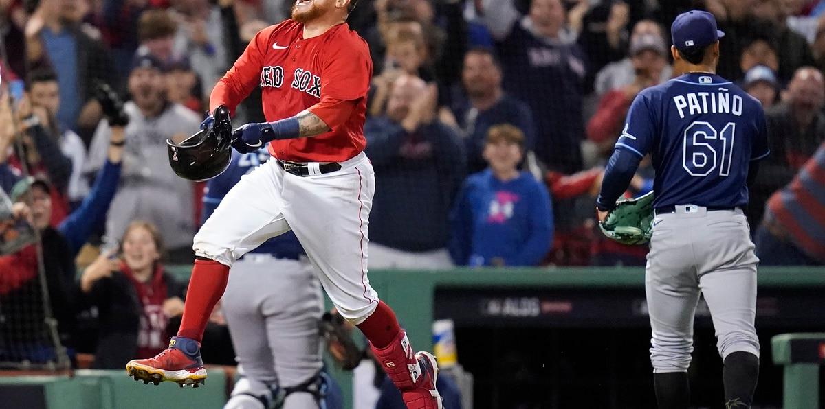 Christian Vázquez pone a gozar a los Red Sox