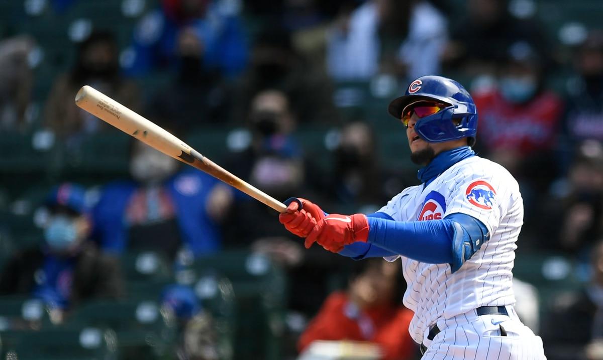 Javier Báez aporta a la fiesta de cuadrangulares de los Cubs contra los Braves