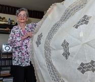 Nellie Vera Sánchez ha dedicado gran parte de su vida al arte del mundillo.