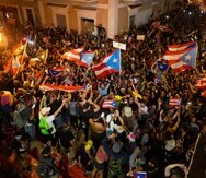 """Al final del """"Verano del 19"""", en la isla había un gran entusiasmo por lo que la movilización ciudadana había logrado con la salida de Ricardo Roselló Nevares. (Xavier J. Araújo Berríos)"""