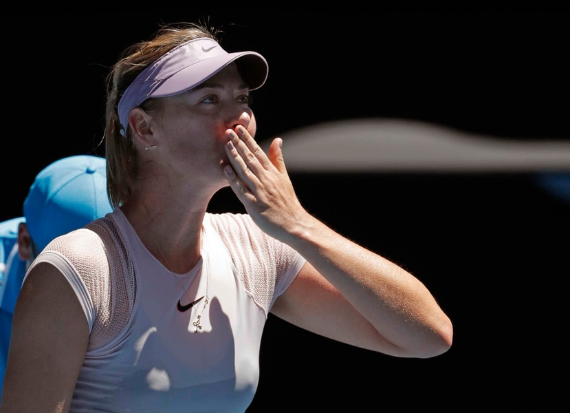 Maria Sharapova, tenista rusa (AP)