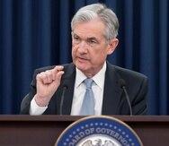El presidente de la Reserva Federal, Jerome Powell. (Agencia EFE)