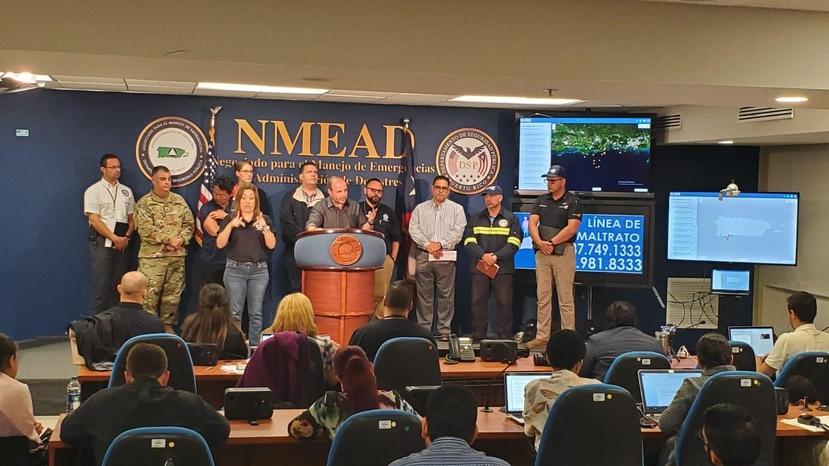 El secretario designado de Estado, Elmer Román, no considera que sea necesario evacuar de inmediato a residentes en Ponce, Peñuelas, Yauco, Guayanilla y Guánica.