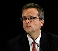 En la foto, el presidente de la Junta de Supervisión Fiscal, David Skeel.