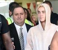 Justin Bieber demanda a dos perfiles de Twitter por acusarlo de agresión sexual. (Agencia EFE)