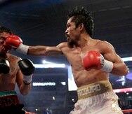 A pesar de la desventaja en estatura cuando peleó contra Antonio Margarito, el filipino Manny Pacquiao lo apabulló para quitarle la faja de las 154 libras en 2010.