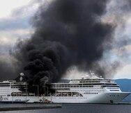 Controlan un incendio en el crucero MSC Lirica